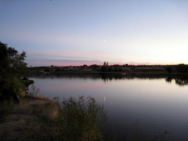 На высоком берегу реки Дон