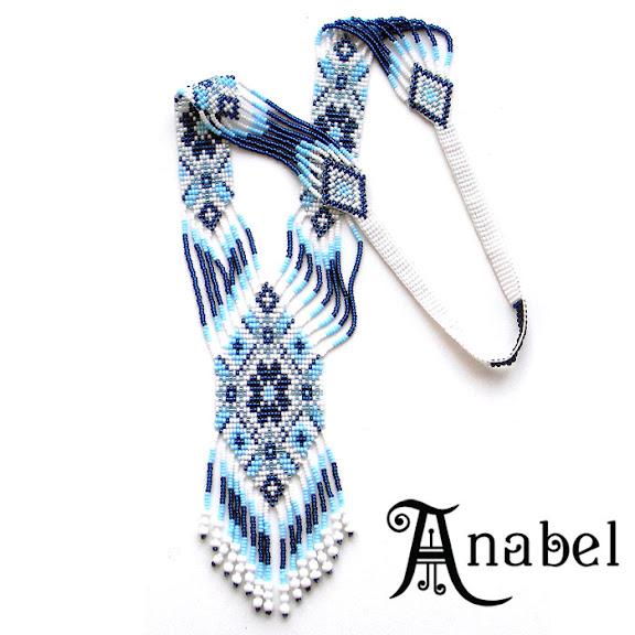 купить гердан гайтан этническое ожерелье колье из бисера славянские украшения