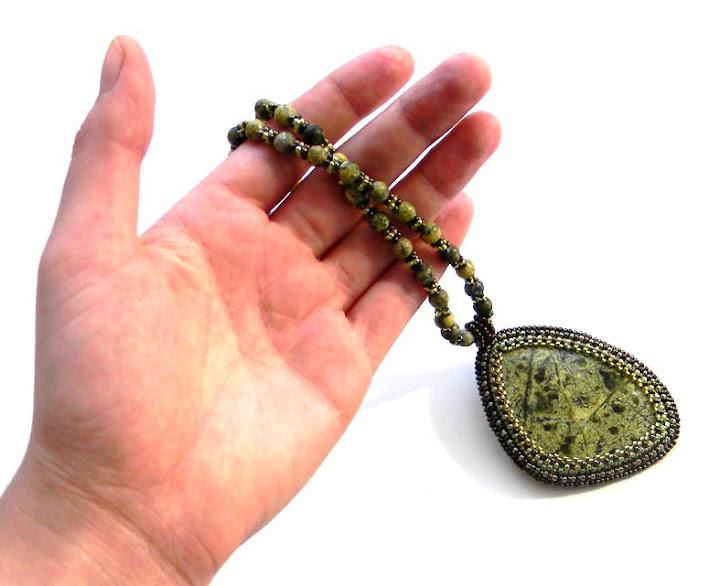купить украшения с бисером и камнями анабель украина