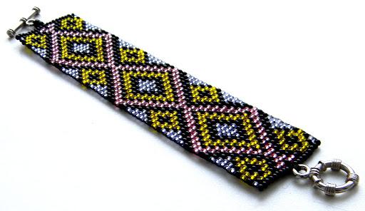 купить браслет из бисера авторские украшения ручная работа
