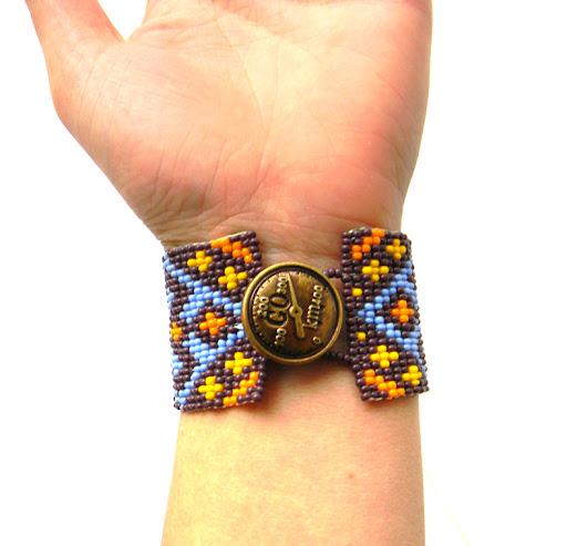 браслет из бисера этнический Anabel купить украина