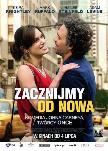 Przód ulotki filmu 'Zacznijmy Od Nowa'