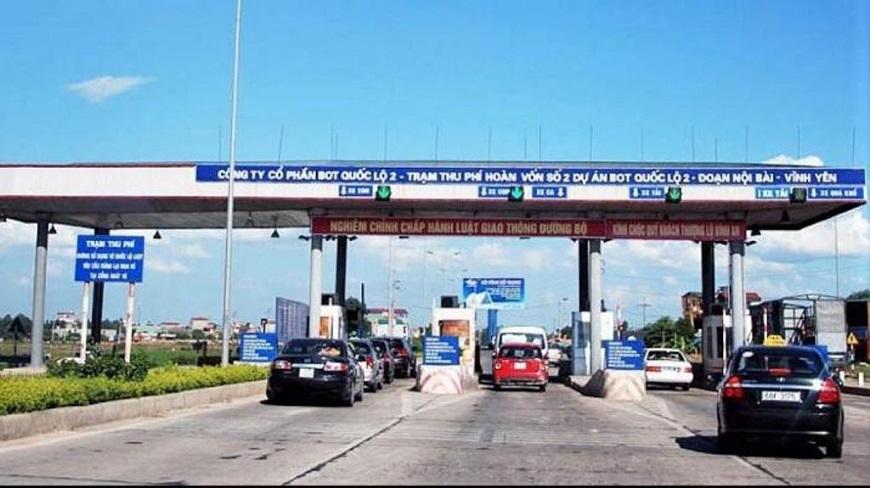 Trạm thu phí cầu đường Vĩnh Phúc hoàn thành
