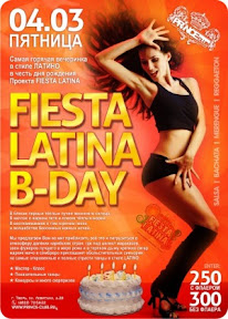 Fiesta Latina B-Day