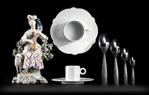 Дизайн столового сервиза от Марселя Вандерса
