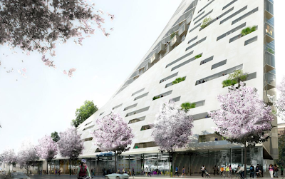 Building design by the Bjarke Ingels Group - BIG