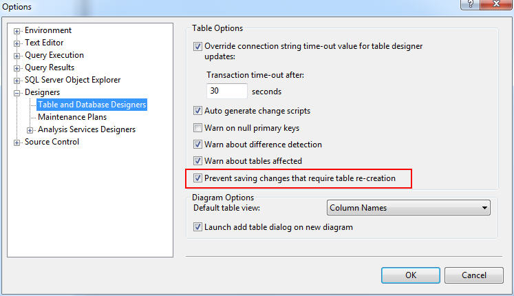 Troubleshoot :: Saving changes is not permitted