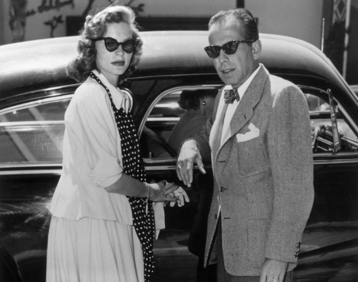 Lauren Bacall i Humphrey Bogart