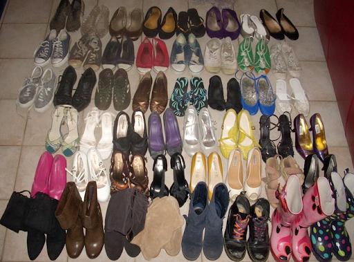 caroline's shoe collection