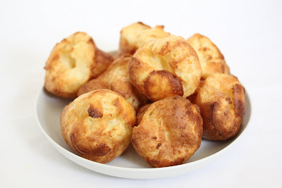 photo of popovers on a plate