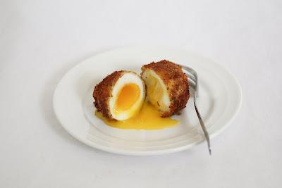 fried bacon egg