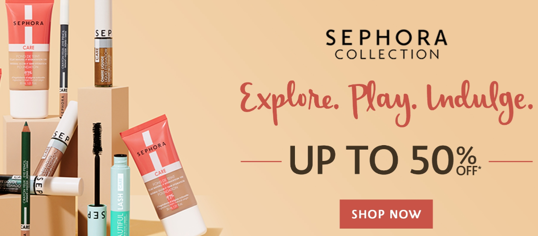 Sephora Landing Page