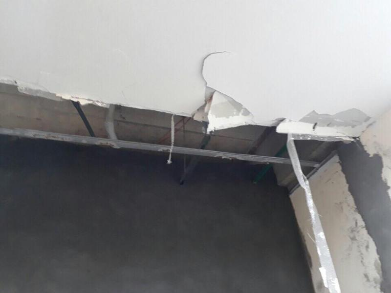 Trần thạch cao giá rẻ kém chất lượng không đảm bảo cho công trình