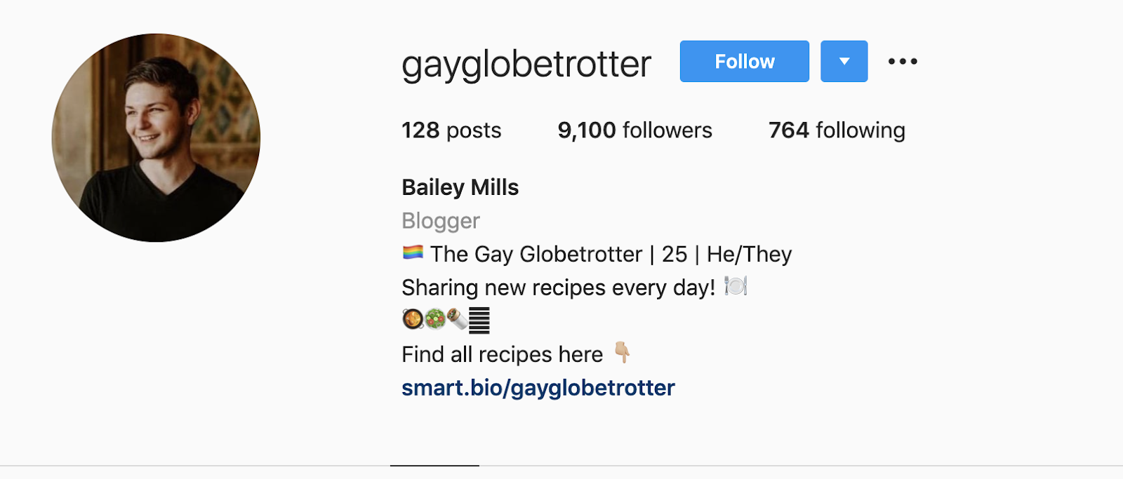 Bailey Mills   Founder of Gay Globetrotter