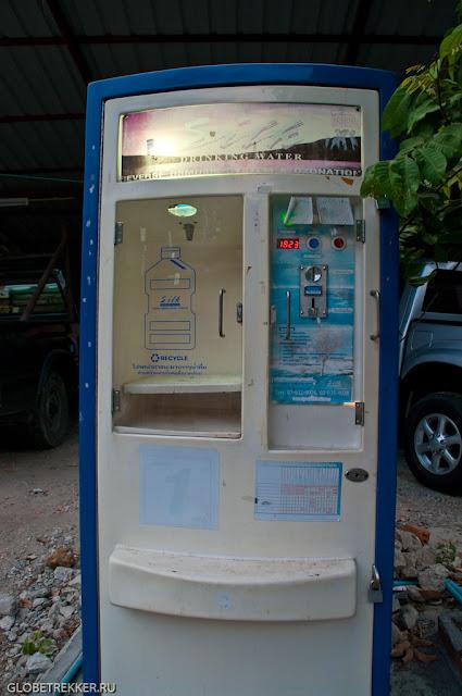 Питьевая вода в Таиланде: способы добычи