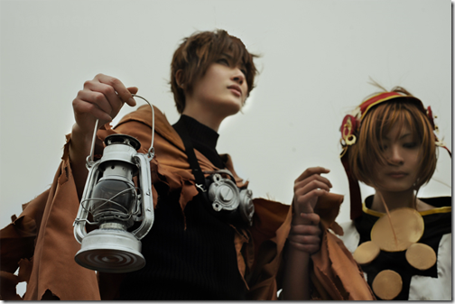 tsubasa - reservoir chronicle cosplay - syaoran and sakura by hagaren and hu li