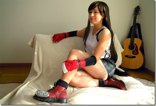 final fantasy vii cosplay - tifa lockhart 4 by frankiki