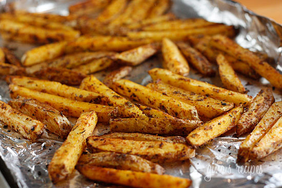 Homemade Seasoned Fries In Oven