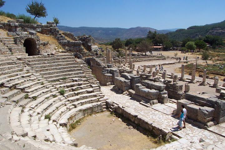 Teatro del Odeon en Éfeso.