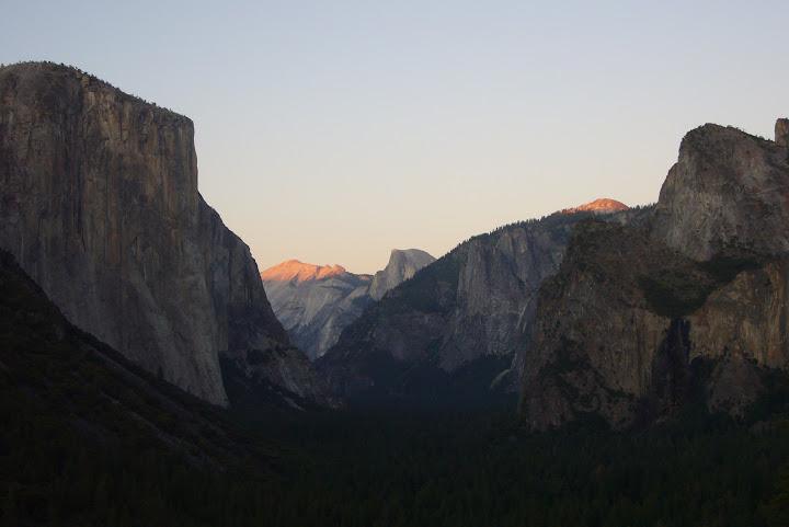 Gran capitán en Yosemite