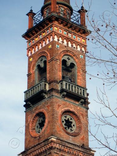 Fotografia campanile San Sebastiano Cuneo
