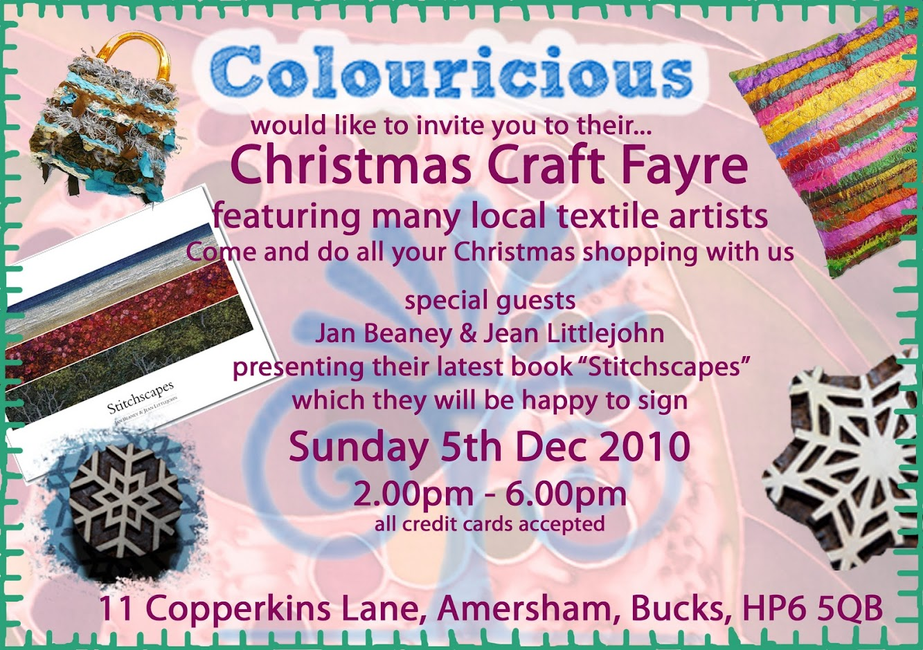 Come Celebrate Christmas with Colouricious!