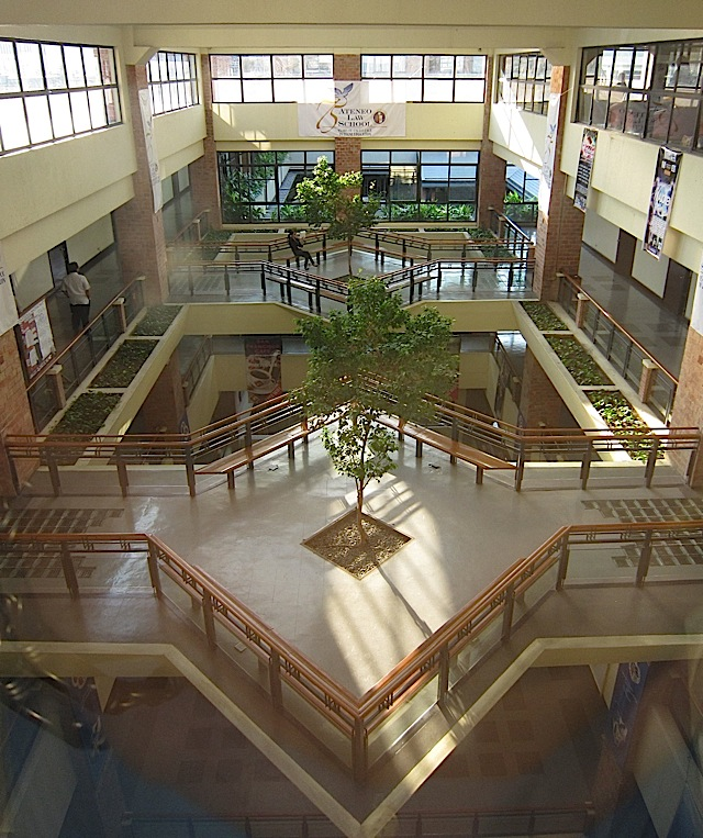 bridges inside the Ateneo Professional Schools