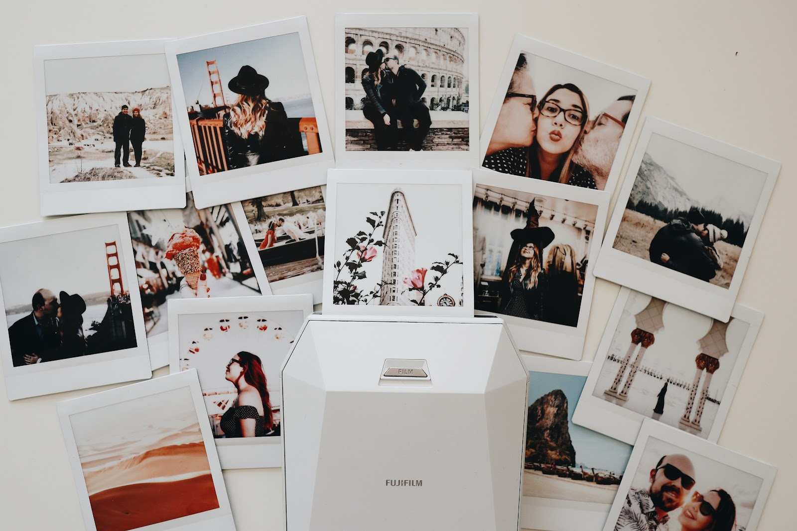 Polaroid memories with your Valentine.
