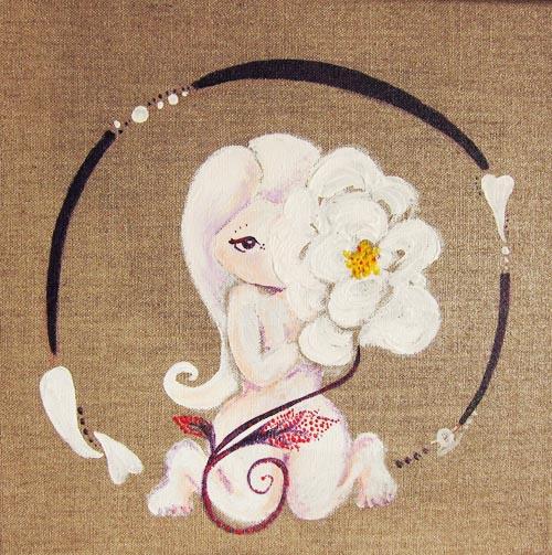 La rose blanche : timidité