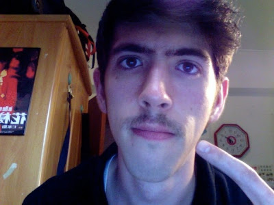 my travesty of a mustache