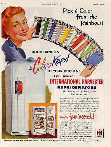 Vintage International Harvester Refridgerator