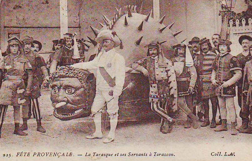 The Dreaded French Tarasque Dragon