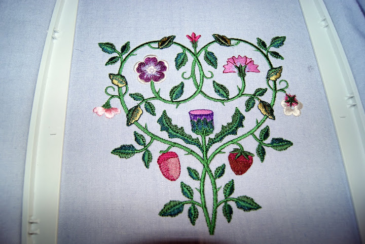 Bodice with Embroidery