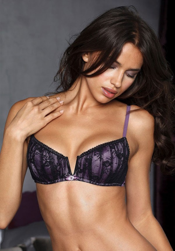 Irina Shayk might be the perfect lingerie model  #lingerie:babe,fashion girl,lingerie,models