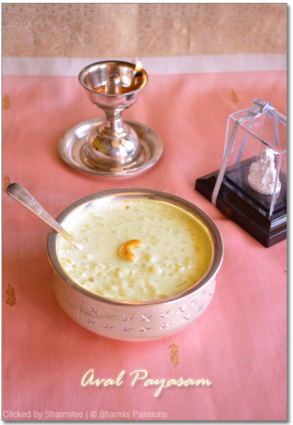 Rice Flakes Payasam