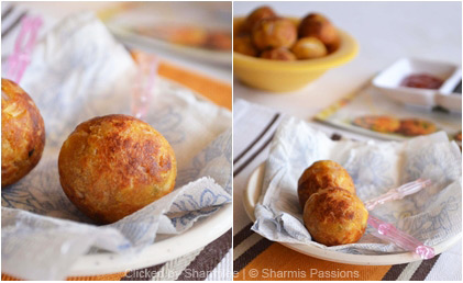 Paneer Bread Balls Recipe