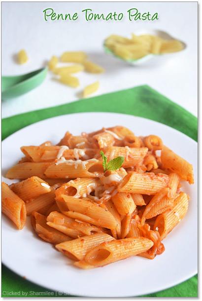 Tomato Penne Pasta