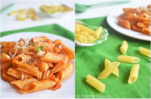 Tomato Penne Pasta Recipe