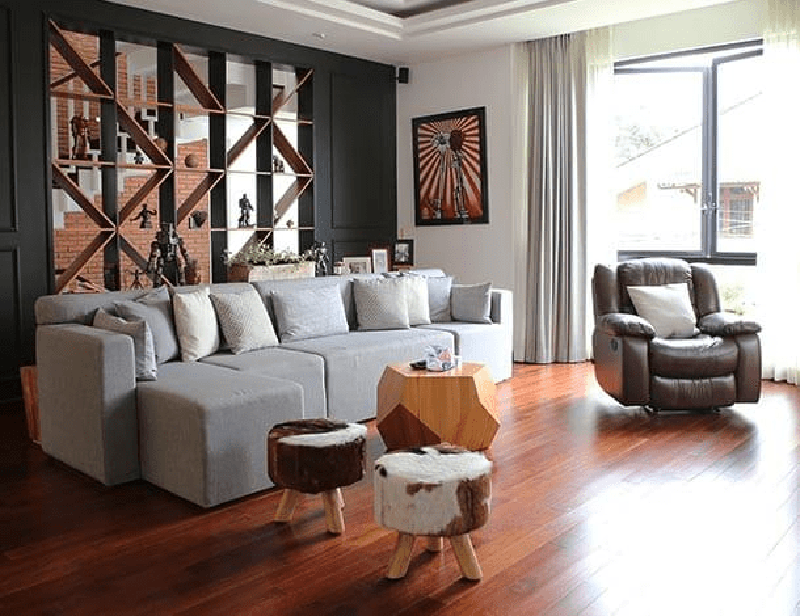 Cảm hứng của phổ biến và dễ dàng để áp dụng thiết kế nội thất nhà tối giản