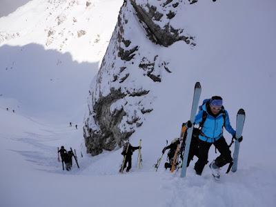 Skier tragen