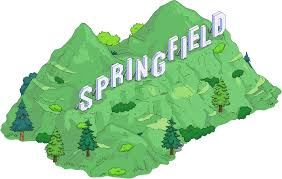 Image result for springfield simpsons