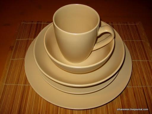 посуда столовая чайная сервиз ежедневный Финляндия