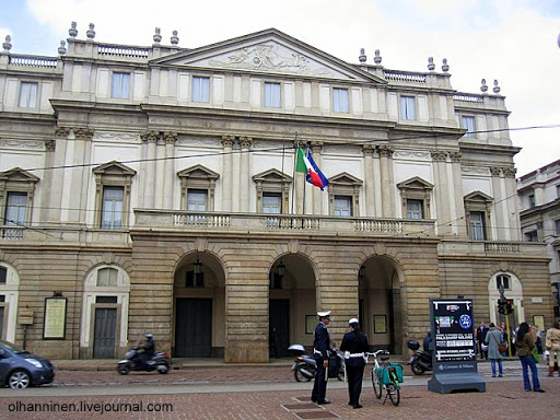 Театр Ла Скала в Милане, Италия