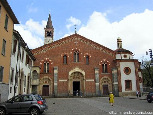 Базилика святого Евсторгия в Милане, Италия