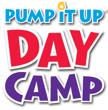Pump It Up Day Camp logo