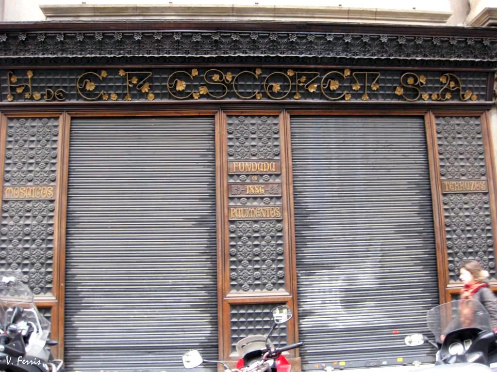 Pavimentos escofet barcelona modernista for Pavimentos barcelona