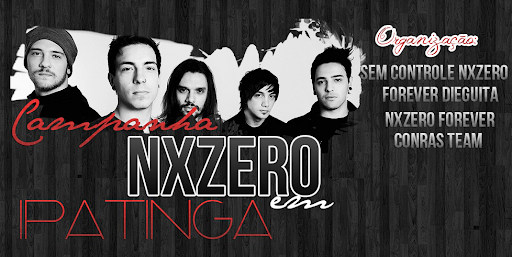 Campanha NX Zero em Ipatinga/MG