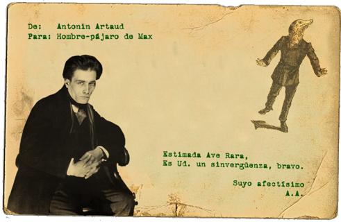 Antonin Artaud es Director de la Central de Investigaciones Surrealistas. 15 rue de Grenelle