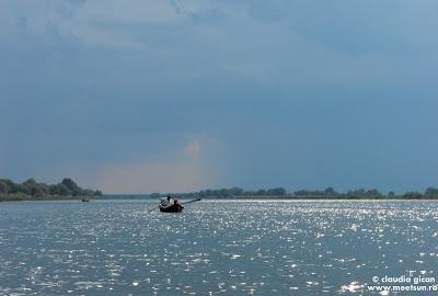 pe Dunarea Veche - apropierea furtunii