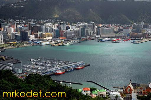 1. Wellington New Zealand 10 Bandar Terbersih Di Dunia